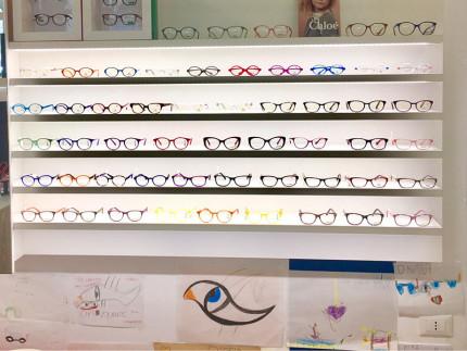 """Angolo occhiali """"Kids"""" al Centro Ottico Optovolante di Senigallia"""