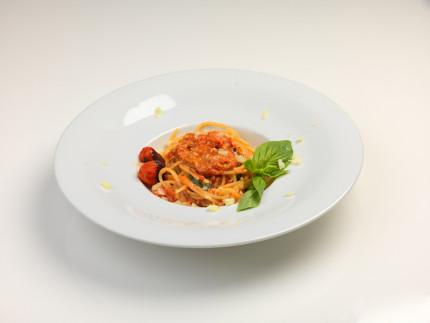 Spaghetti con datterini e olio extravergine di oliva - ricetta di Raul Ballarini
