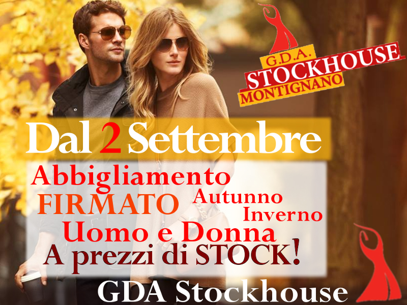 Abbigliamento autunno/inverno 2017/18 al GDA Stockhouse a Montignano di Senigallia