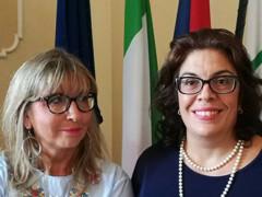 Stefania Martinangeli ed Elisabetta Palma