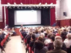 L'incontro dei comitati di alluvionati al teatro Portone di Senigallia