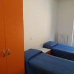 Una camera del centro di solidarietà don Luigi Palazzolo della Caritas di Senigallia