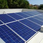 L'impianto fotovoltaico del centro di solidarietà don Luigi Palazzolo della Caritas di Senigallia