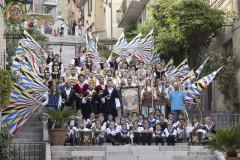 Il gruppo storico Combusta Revixi di Corinaldo, formazione 2017