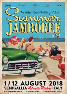 Il manifesto del Summer Jamboree del 2018