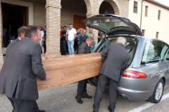 I funerali del rag. Bernacchia a Corinaldo