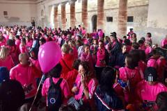 Le partecipanti alla maratona in rosa Io Corro Per La Vita a Senigallia