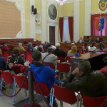 L'incontro per la consegna degli alloggi popolari a Senigallia