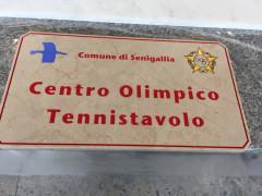 Nuova Targa per il Centro Olimpico