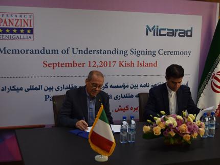 Siglato un accordo a Teheran, in Iran per la collaborazione dell'istituto di Senigallia Panzini con alcune società iraniane