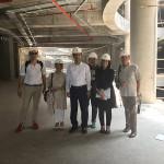 Visita della delegazione senigalliese dell'istituto Panzini a Teheran, in Iran