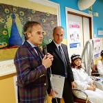 Maurizio Bevilacqua all'inaugurazione a Senigallia per il progetto Paxman verso i malati oncologici