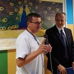 Massimo Marcellini all'inaugurazione a Senigallia per il progetto Paxman verso i malati oncologici