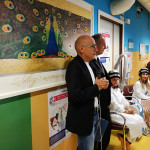 Fabrizio Volpini all'inaugurazione a Senigallia per il progetto Paxman verso i malati oncologici