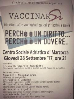 Manifesto Vaccini