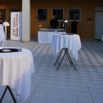 Catering gestito da Uliassi per l'inaugurazione Banca Generali a Senigallia