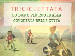 La locandina per la triciclettata di Senigallia