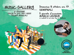 Marco Ligabue al Centro Commerciale Ipersimply Senigallia come giudice al Music Gallery