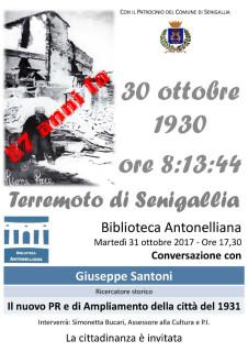 Locandina Terremoto 87 Anni fa