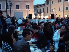 Piazza del Duca gremita per la Festa dei Popoli 2017