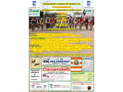 Gara di ciclocross a Cesano di Senigallia