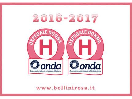 Ospedale donna - Bollini rosa 2016/17