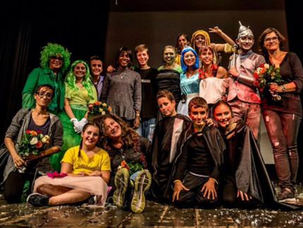 Allievi della Scuola di Musical del Teatro Portone