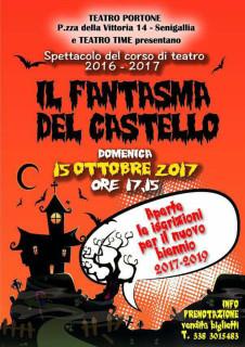 Il Fantasma del Castello - domenica 15 ottobre 2017 a Senigallia - locandina