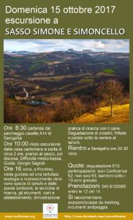 Confluenze organizza una escursione al Parco Naturale del Sasso Simone e Simoncello