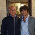 Oscar Antonietti ed il sindaco Principi