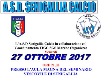 Convegno organizzato da A.S.D. Senigallia Calcio