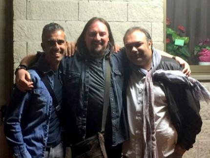Marco Petrucci, Yuri Cilloni, Francesco Ferrandi