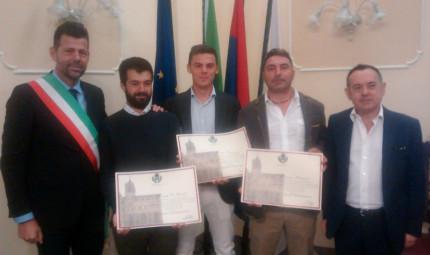 cittadinanza benemerita ai tre senigalliesi