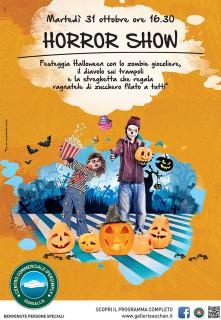 Halloween Horror Show al Centro Commerciale Ipersimply Senigallia - locandina