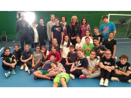 Tennistavolo: borse sportive di studio alla scuola Mercantini