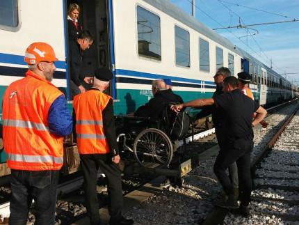 Esercitazione Ferrovie dello Stato a Senigallia