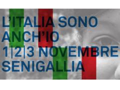 L'Italia sono anch'io - Presidio a Senigallia l'1, 2 e 3 novembre