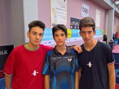 Atleti del Tennistavolo Senigallia