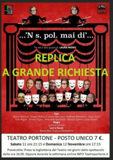 teatro portone locandina