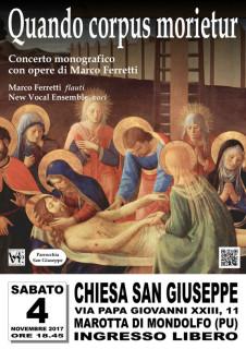 Locandina 4 novembre concerti