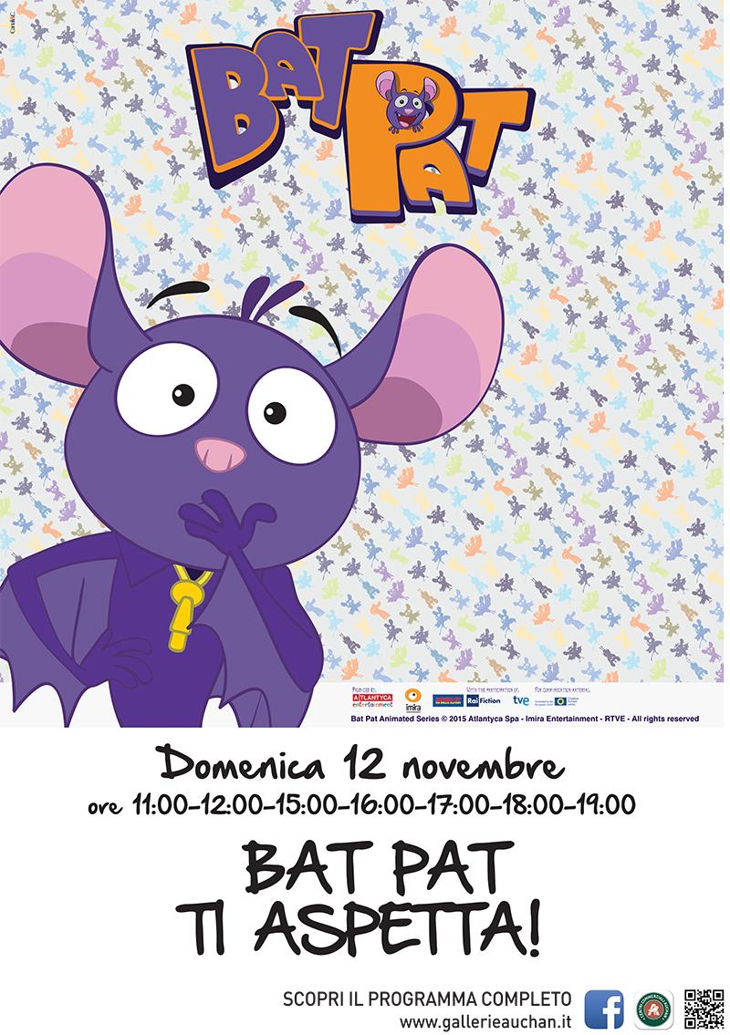 Bat Pat al Centro Commerciale Ipersimply Senigallia - locandina