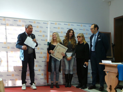 In Studiis Laus - premiazione Emma Valentini, studentessa del Panzini