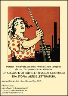 Centenario Rivoluzione Russa: presentazione libro Giorgio Godi e Luca Marconi - locandina