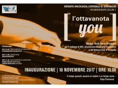 Inaugurazione spazio L'ottavanota You presso U.O. Oncologia a Senigallia