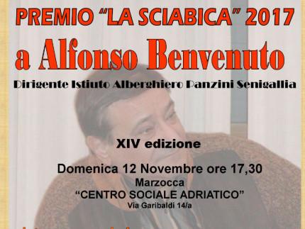 Premio Sciabica ad Alfonso Benvenuto
