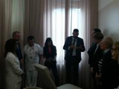 presentato il nuovo spazio accoglienza nell'U.O. Oncologia di Senigallia