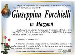 Necrologio Giuseppina Forchielli
