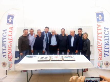 L'Atletica Senigallia festeggia la stella di bronzo