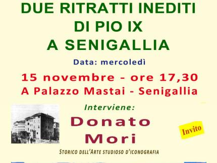 Incontro con Donato Mori a Palazzo Mastai