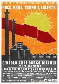 Pace pane terra e libertà - mostra al circolo Arci Borgo Bicchia